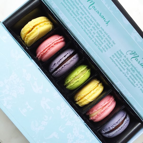 Corporate Gift box of Macarons