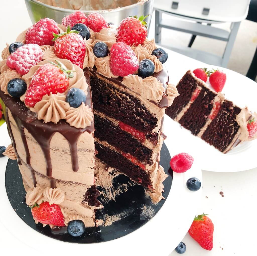 Perfect Vegan Chocolate Drip Cake Recipe 04