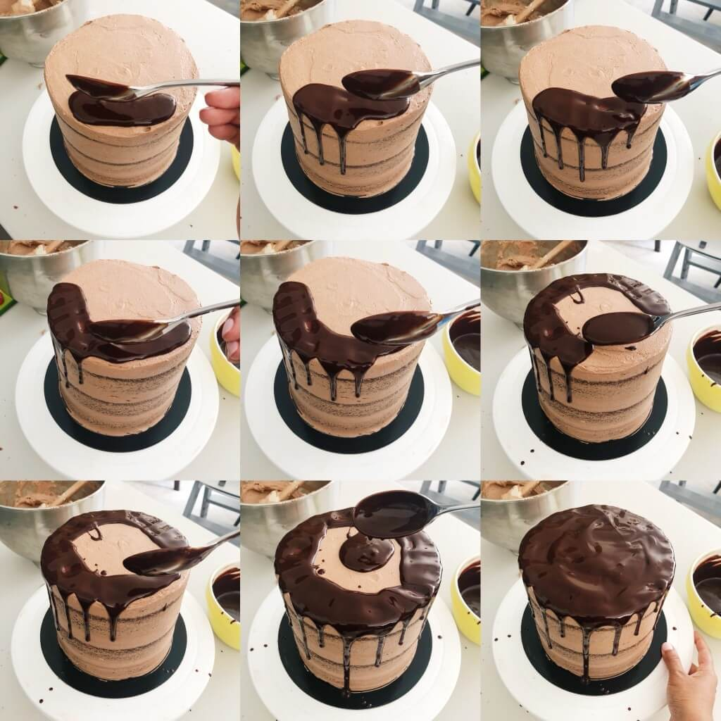 Perfect Vegan Chocolate Drip Cake Recipe 02