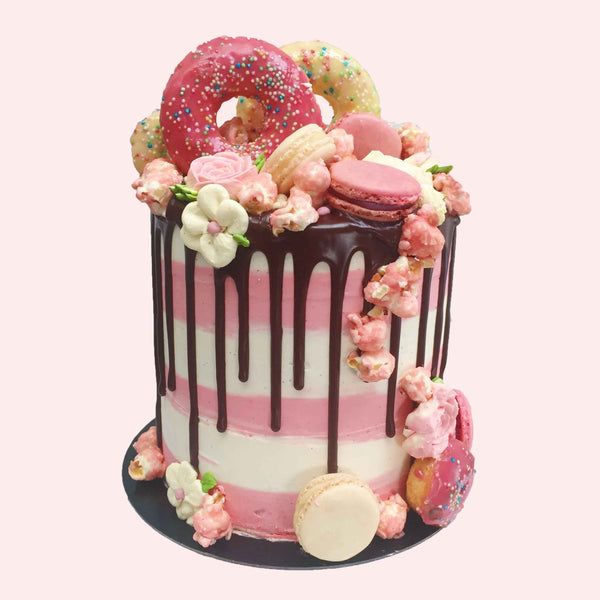 Pink Sweetheart Cake For Ladies
