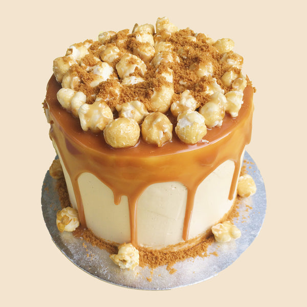 Salted Caramel  Tiers Cakes