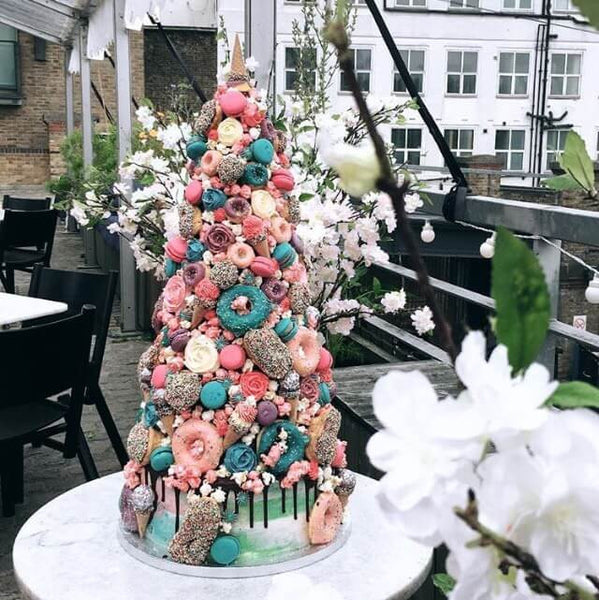 Unicorn Wedding Cake Croquembouche London