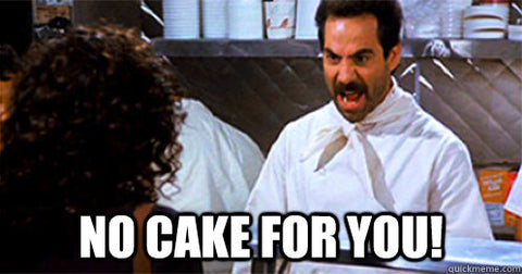 No Cake for You meme Seinfeld