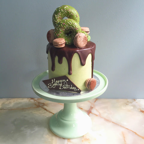 Birthday Cakes London Matcha Chocolate