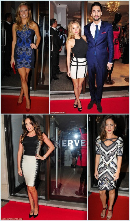 Tamara Ecclestone and Made in Chelsea stars at Herve Leger Barbie Launch