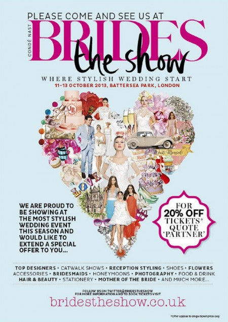 Brides the Show 2013 Invite