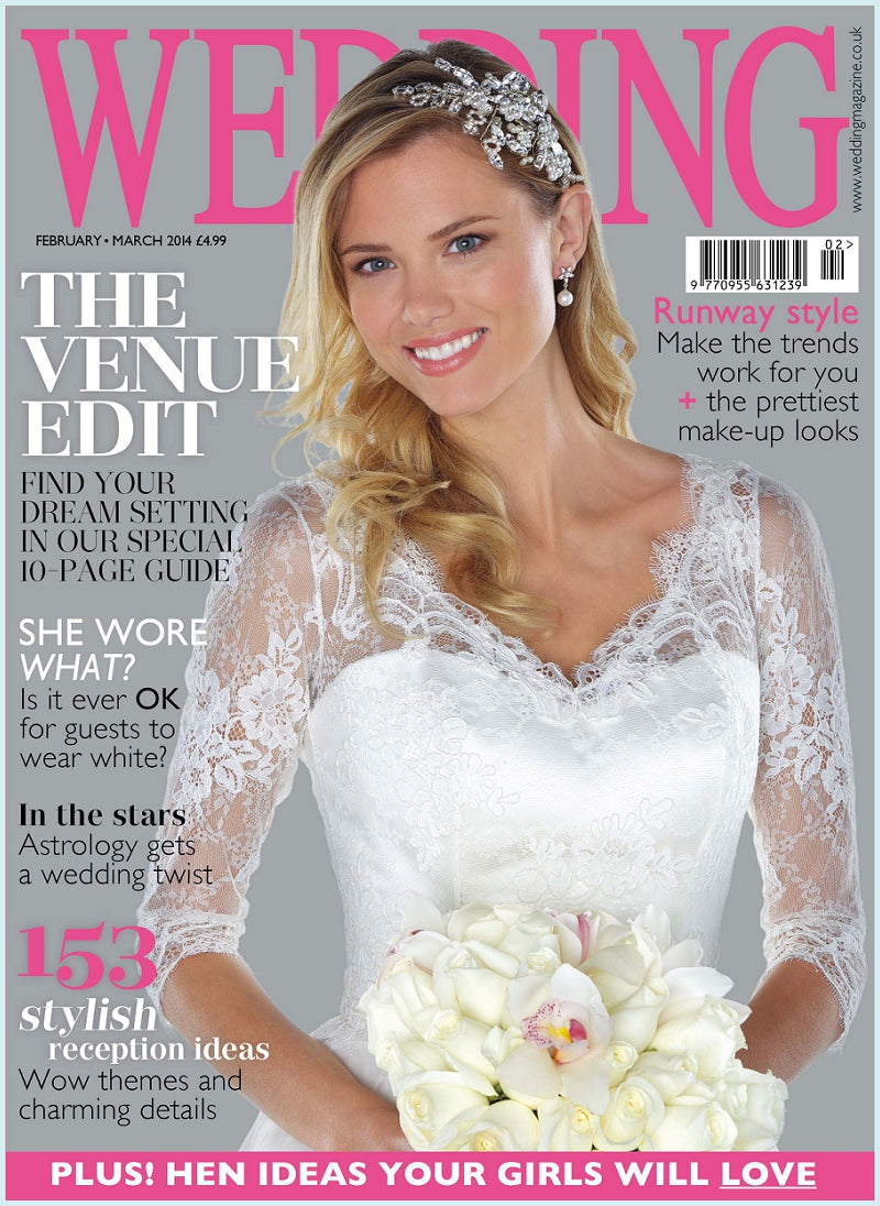 Wedding Magazine Feb Mar 2014 cover
