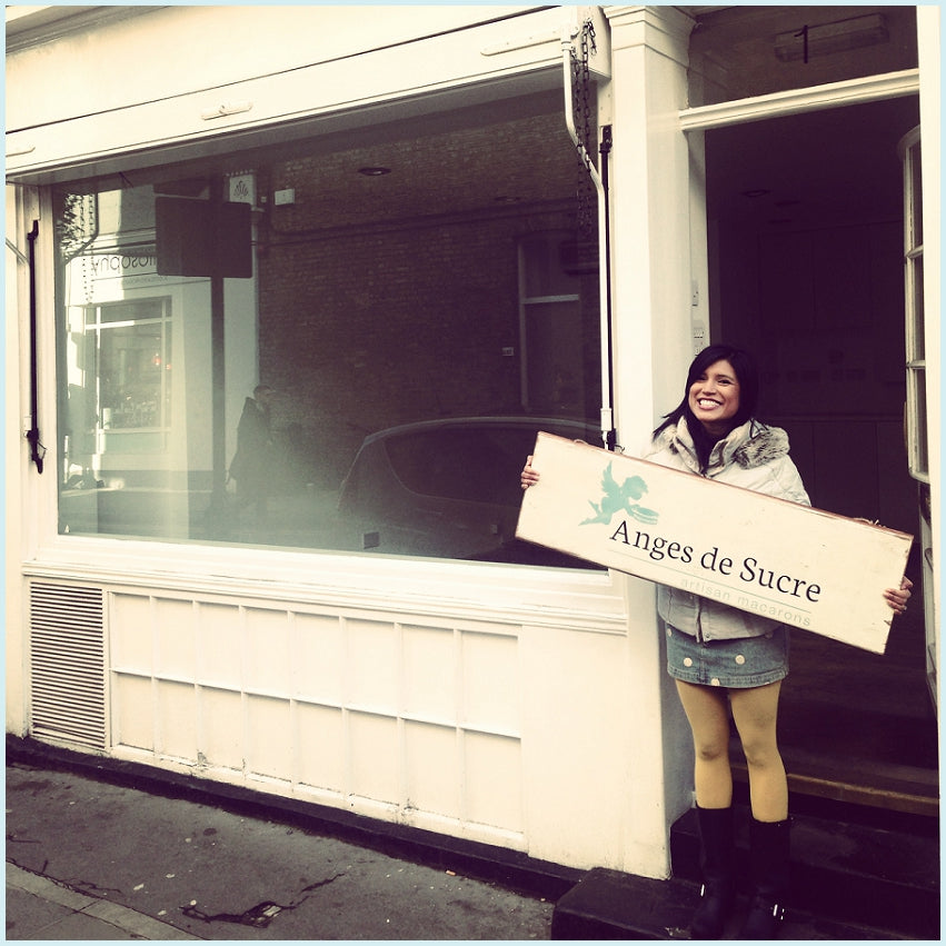 Founder Chef Reshmi at 1 Holland Street, Kensington, London