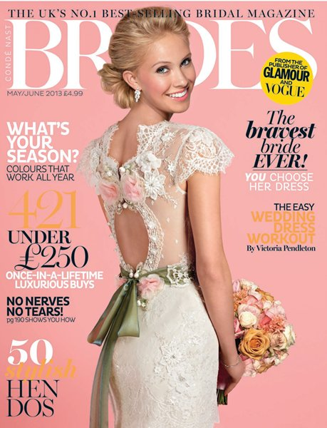 Brides-Magazine-May-June-2013-wedding-macarons-blossom-macaroons-delivery-uk-cover