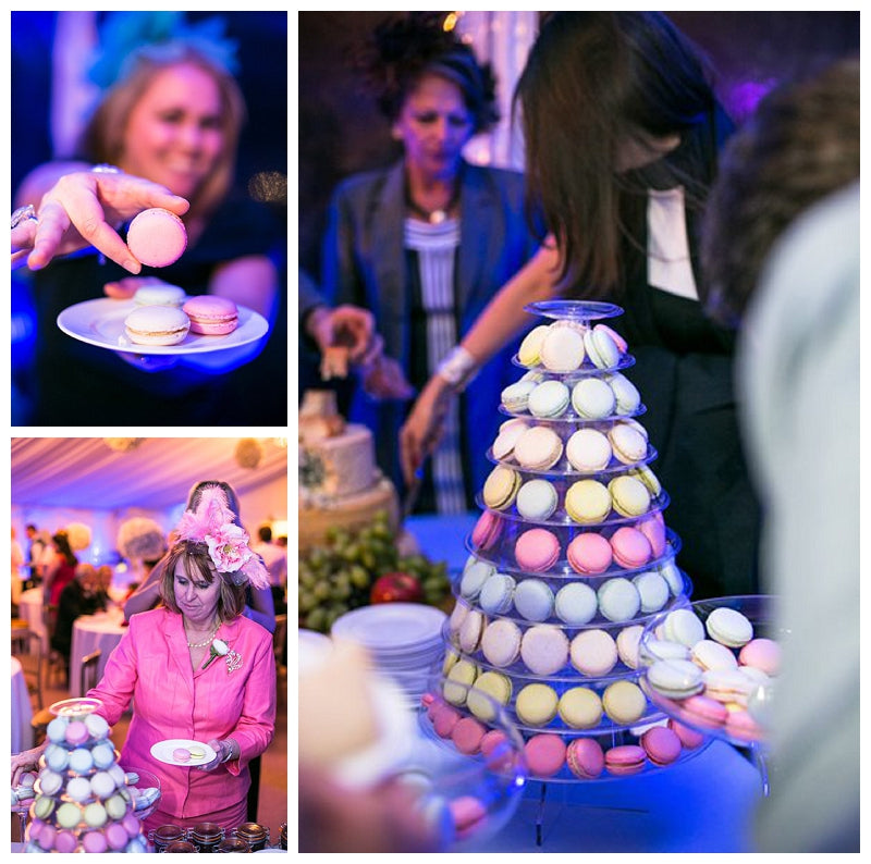 Macaron Tower for Weddings and Events in Buckinghamshire, Berkshire, London