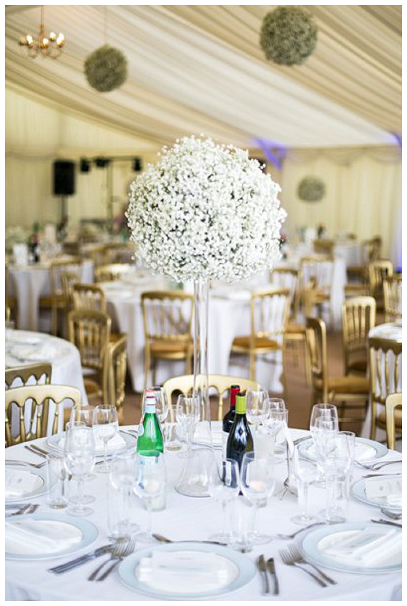 Gypsophila or babys breath wedding flowers and centrepieces