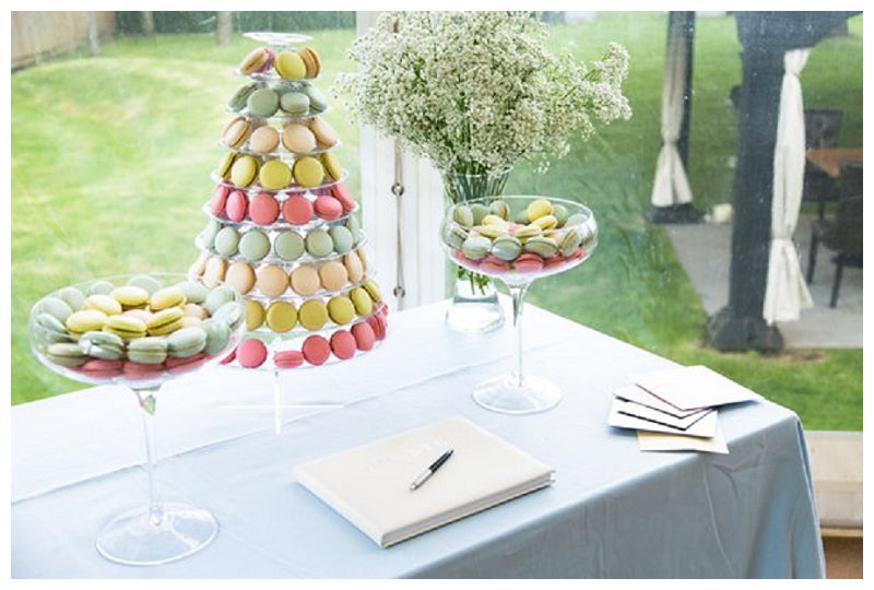 Macaron tower for weddings and events