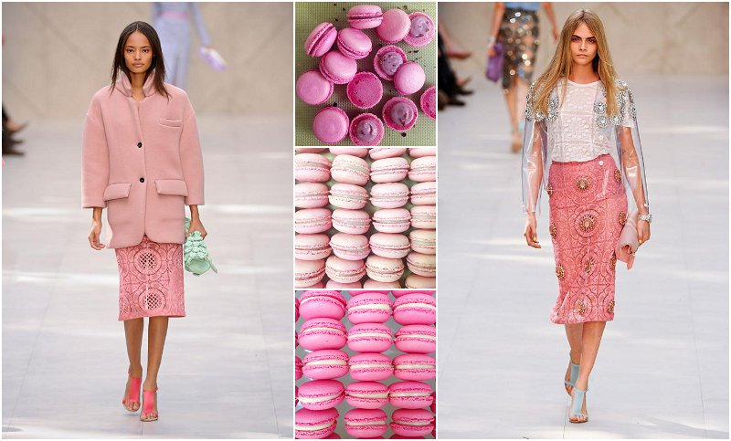 Pastel Pink Macaroons London UK