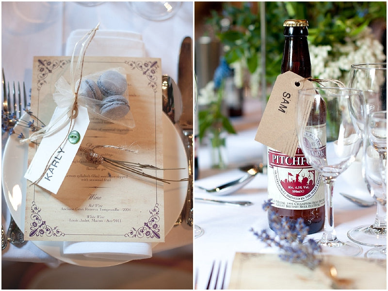 His and Hers Wedding Favours Ideas