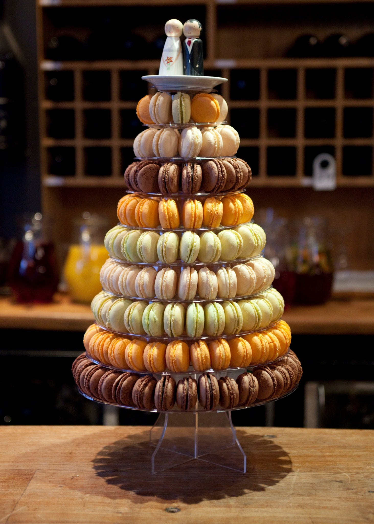 macaroons wedding cake macaroon towers anges de sucre 16971