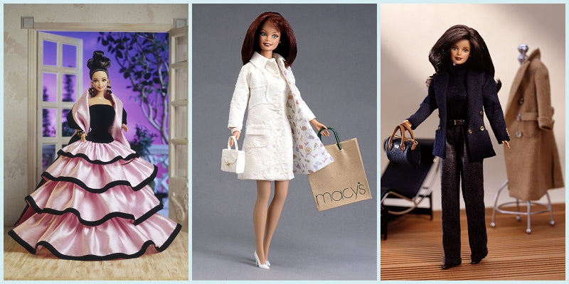 Escada, Nicole Miller, Ralph Lauren Barbies