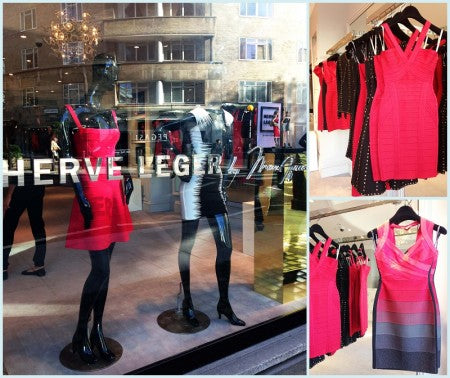 Herve Leger Barbie Launch Party London