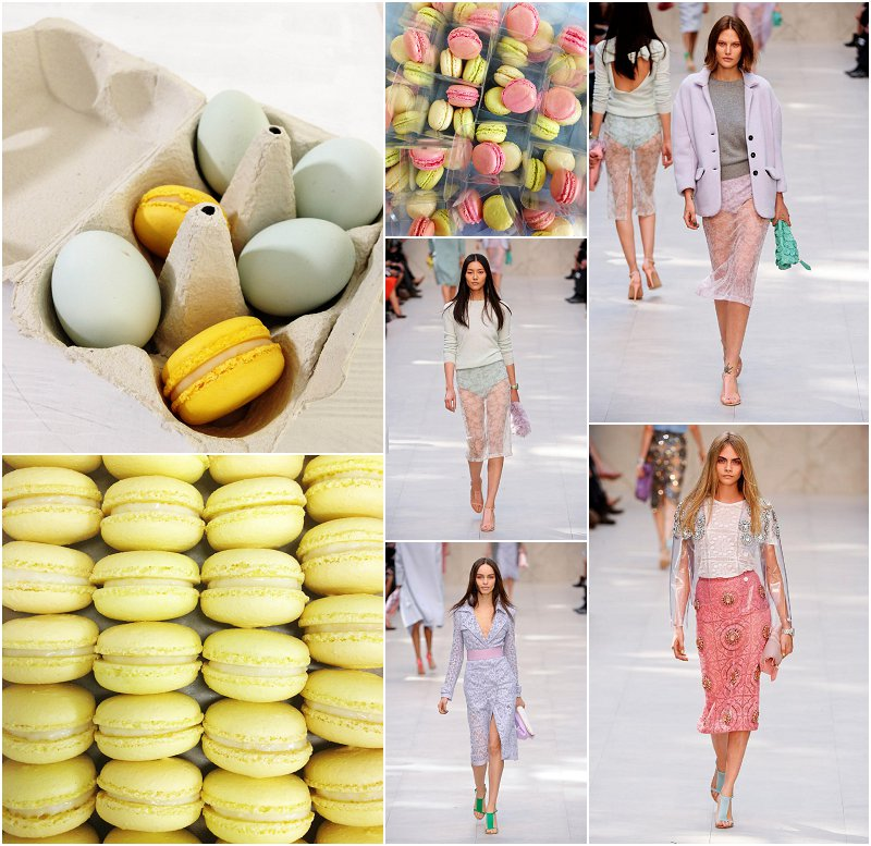 Pastel Macarons London UK Fashion Week