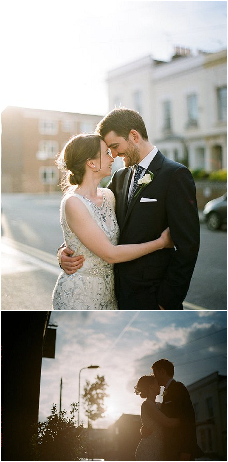 Cutest Couple Ellie and James at their London Wedding