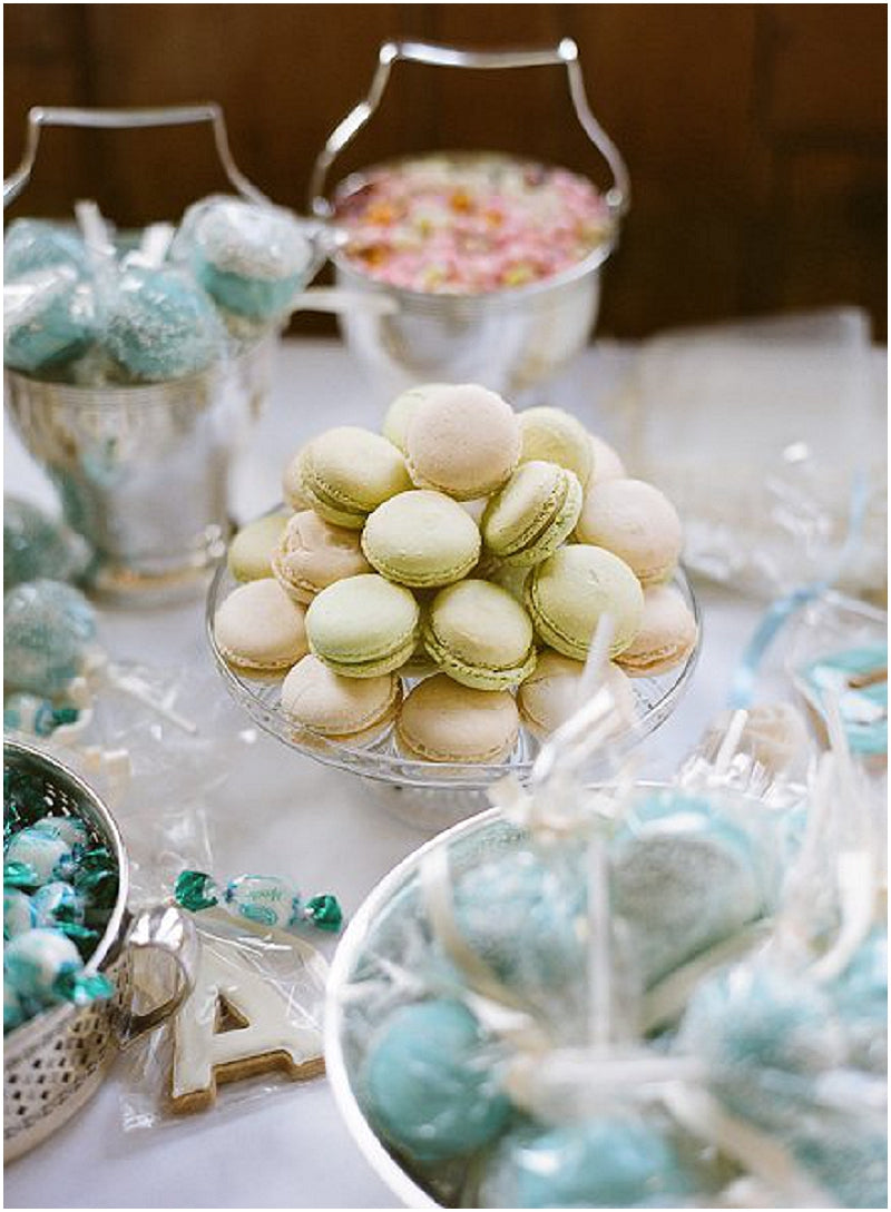 Dessert table macarons