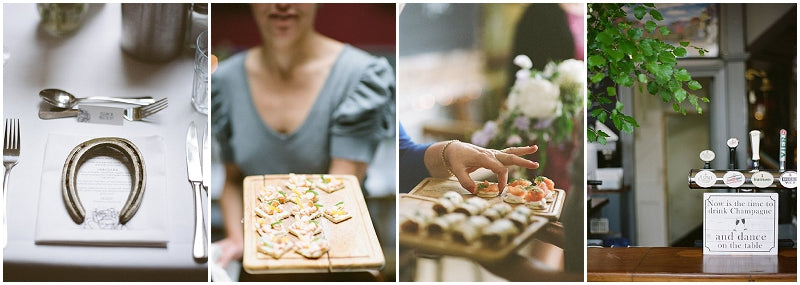 Canapes at the Londesborough Gastropub Wedding