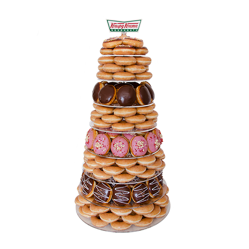 Krispy Kreme Doughnut Wedding Tower