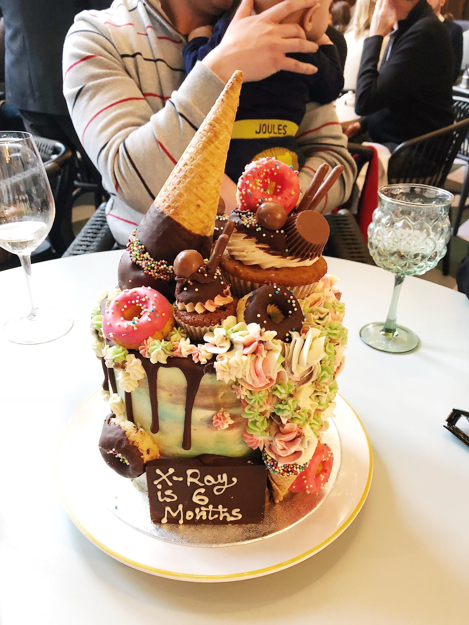 Ice Cream Drip Birthday Cake London