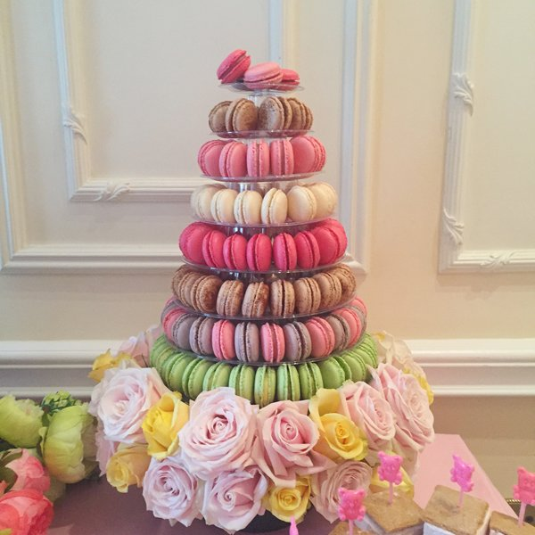 Baby Shower Dessert Table At Savoy Hotel London Anges De Sucre