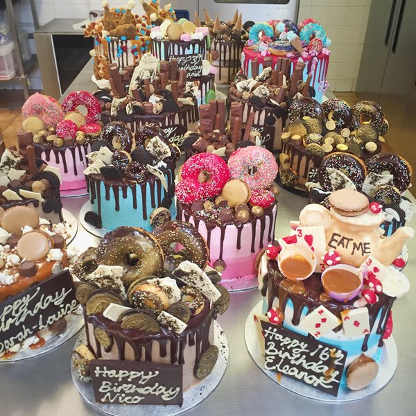 Birthday Cake Trends of 2017 Anges de Sucre