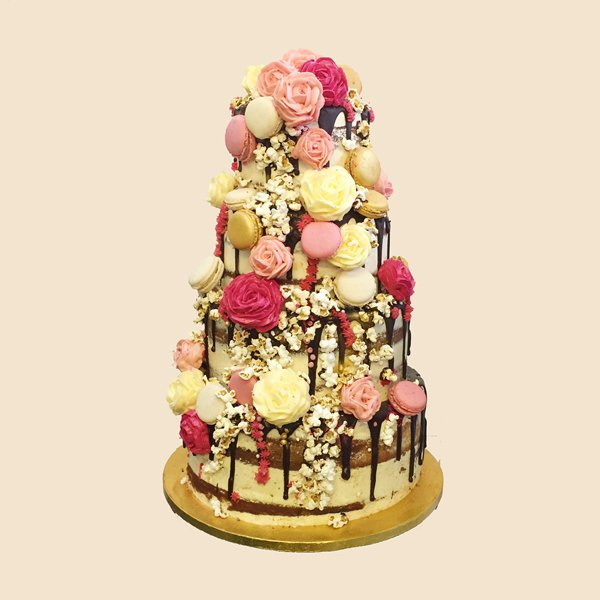Naked Wedding Cake London