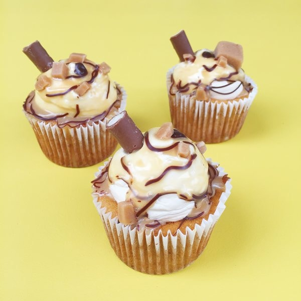 Banoffee Milkshake Cupcakes London