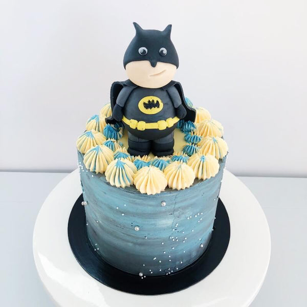 Fun Unique Batman Birthday Cake