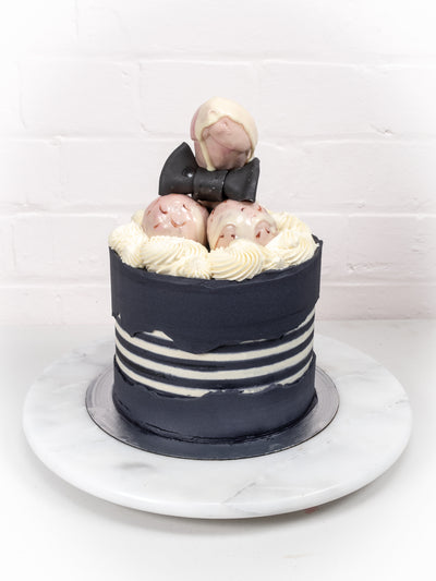 Bendydick Cumberbatch Cake - Close Up