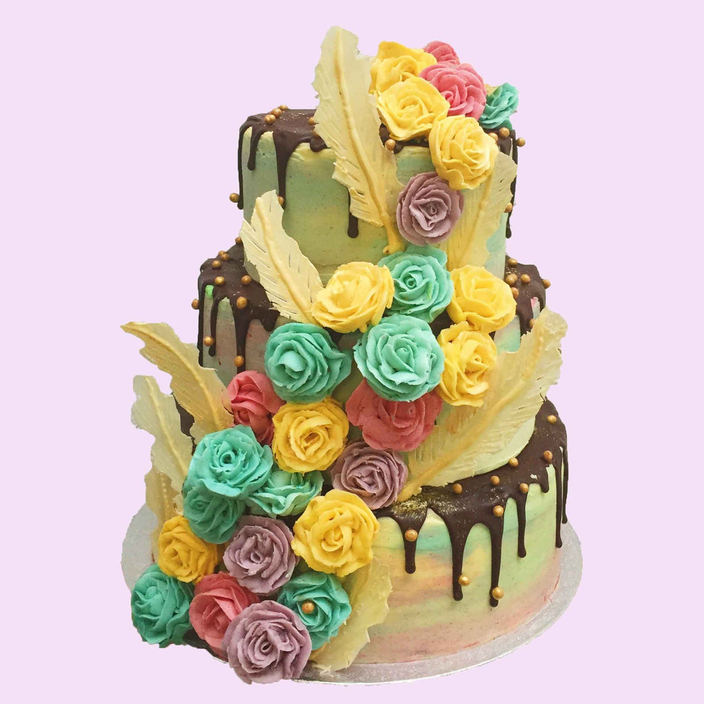 Floral Wedding Cake London