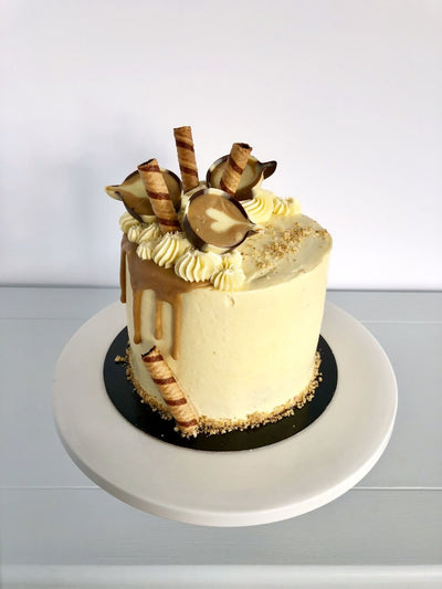 Coffee Culture Birthday Cake 1