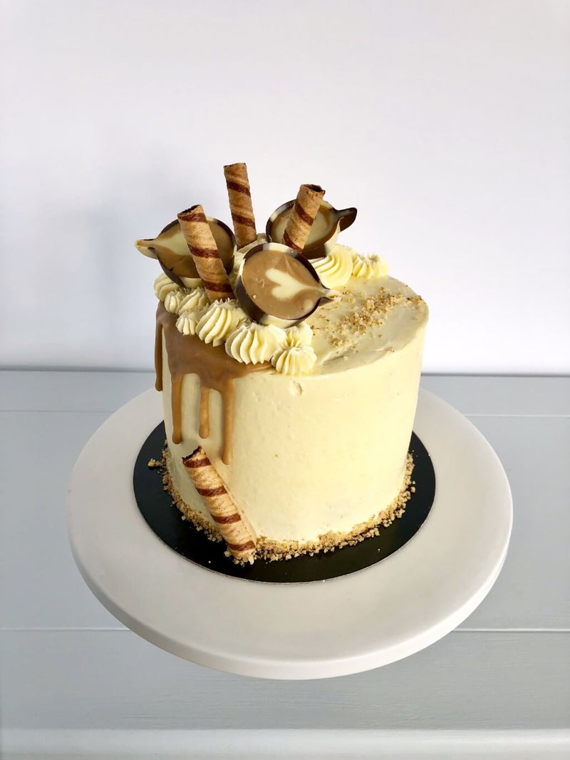 Coffee Culture Birthday Cake