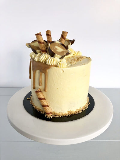 Coffee Culture Birthday Cake 4