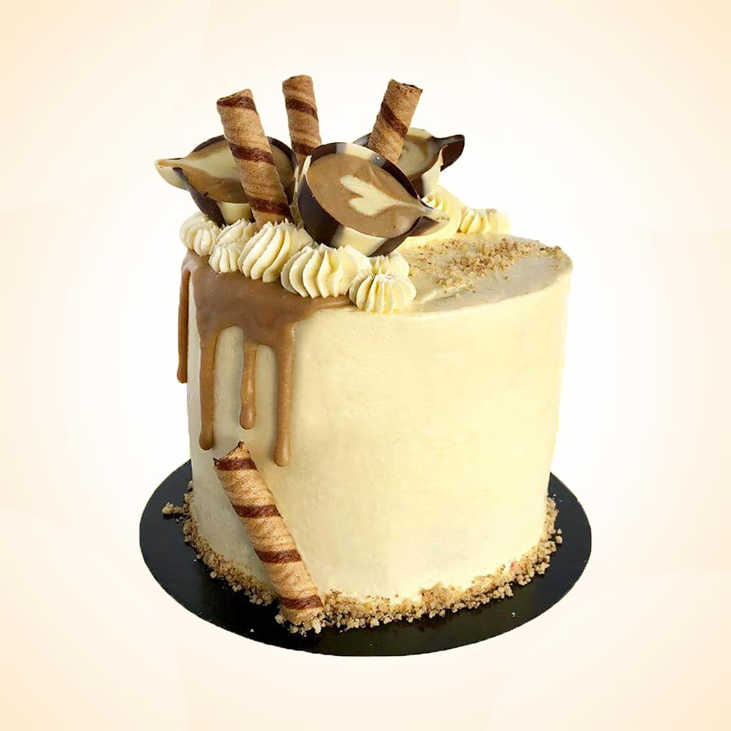 Strange Coffee Walnut Birthday Cake Anges De Sucre Funny Birthday Cards Online Elaedamsfinfo