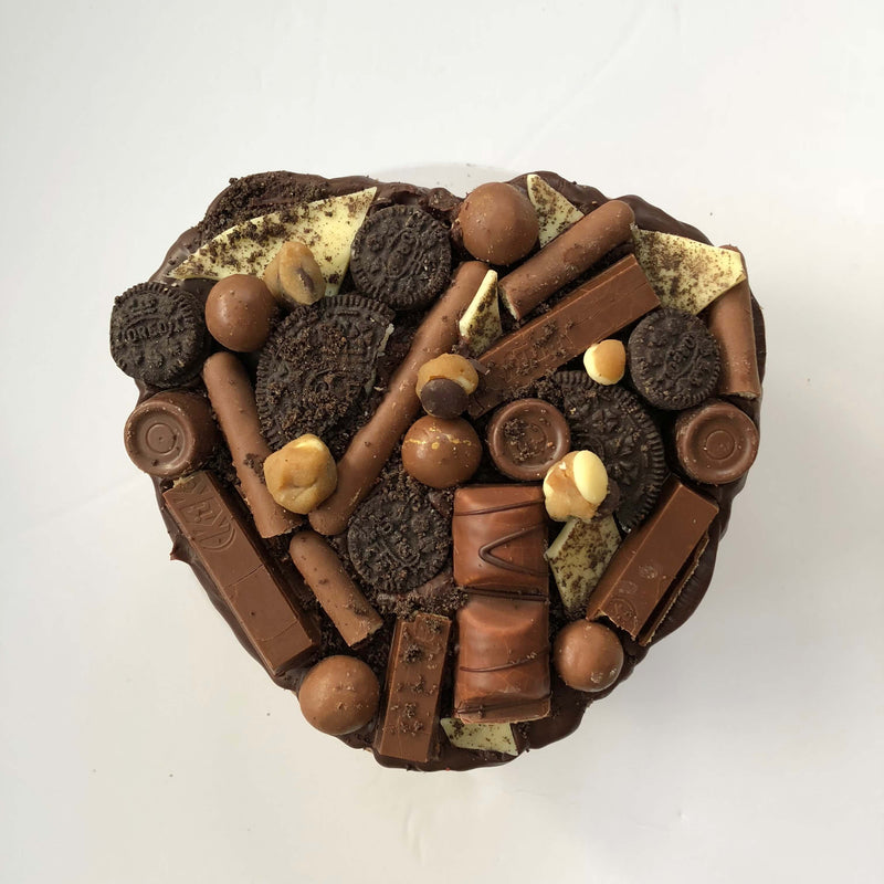 Deliciously Stella Heart Cake