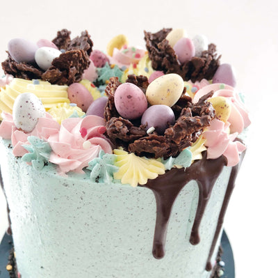 Easter Egg Nest Cake 4