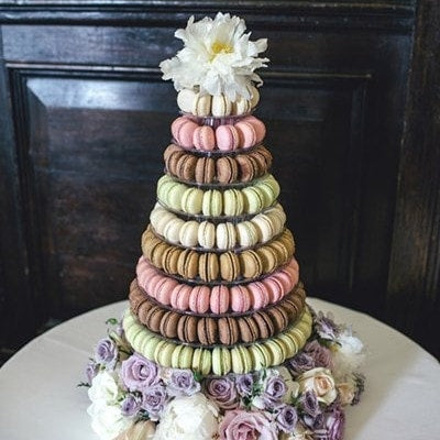Macaroon Tower 10 Tier