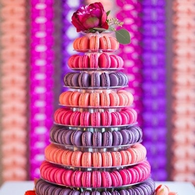 Macaroon Tower 9 Tier
