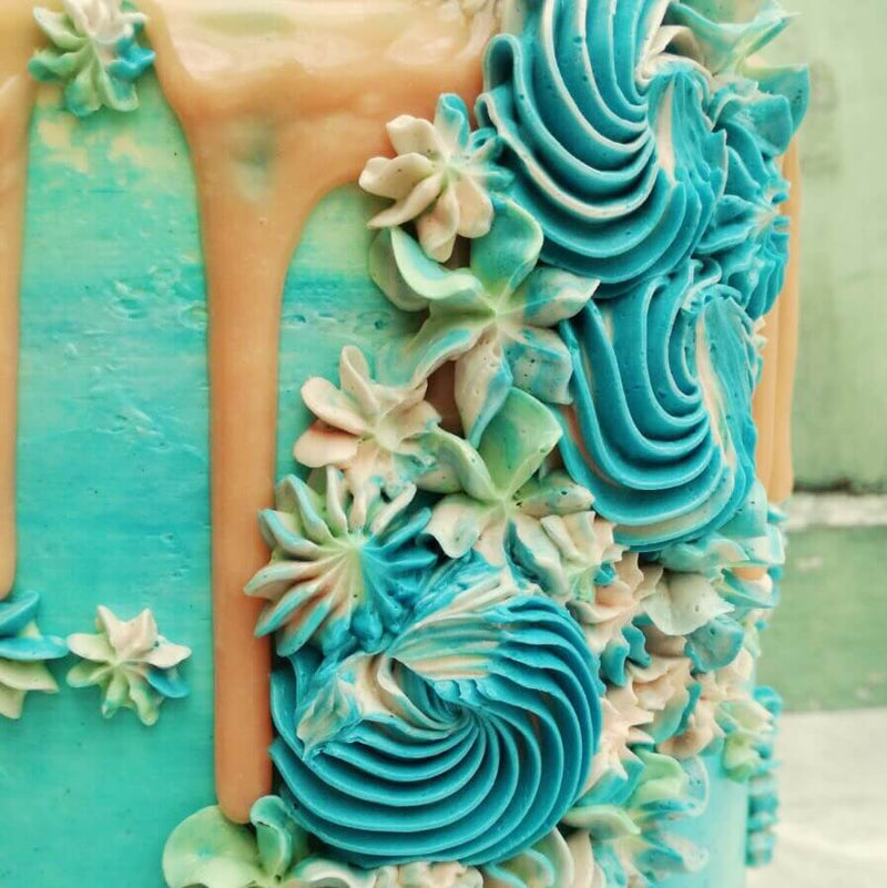 Fantasy Mermaid Cake
