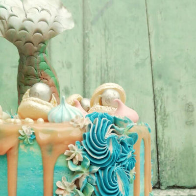Mermaid Cake 4