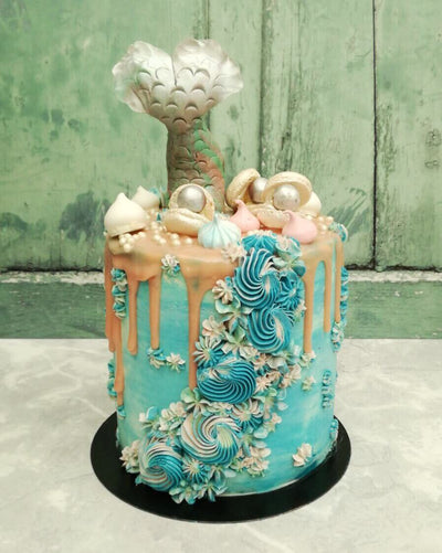 Mermaid Cake 6