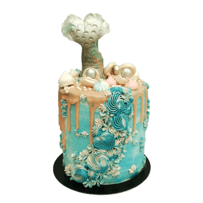 Mermaid Cake 7