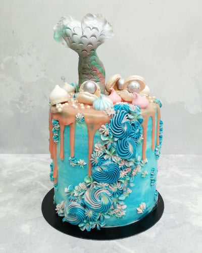 Mermaid Cake 5