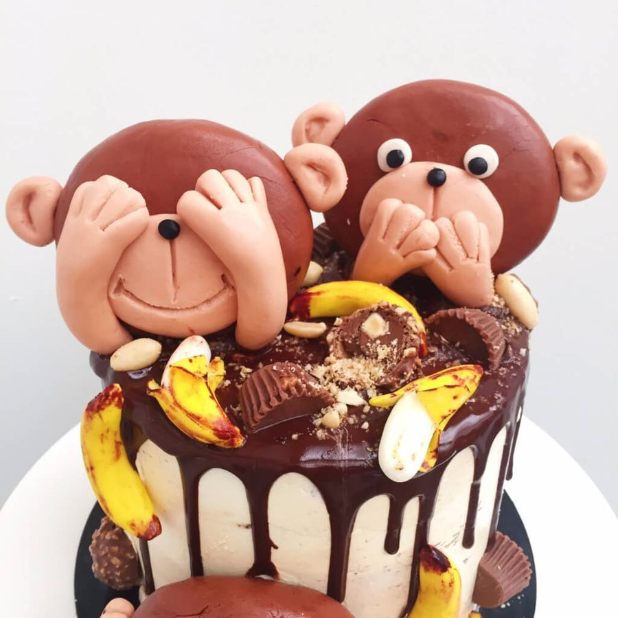 Monkey Business Cake