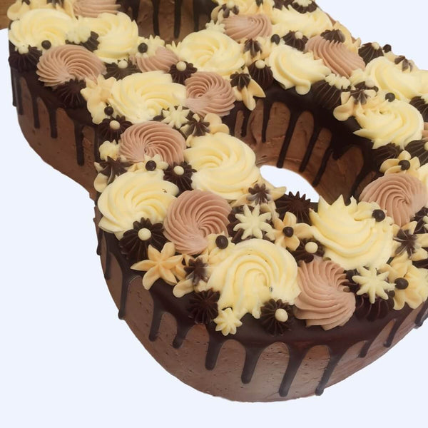Choco Swirl Number Cake Anges De Sucre