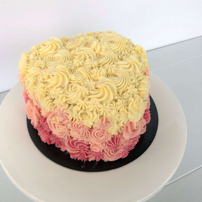 Ombre Heart Cake 3